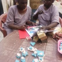 taller de jabon artesanal en Dakar